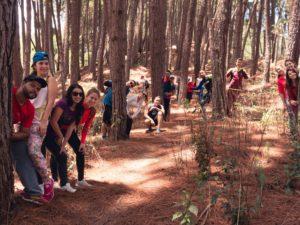 Pasión por Nuestro País llegó hasta los Bosques de Pinos y Grietas de San Pedro