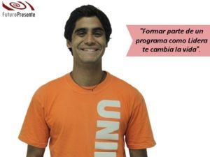 Samuel Díaz: formar parte de un programa como Lidera te cambia la vida