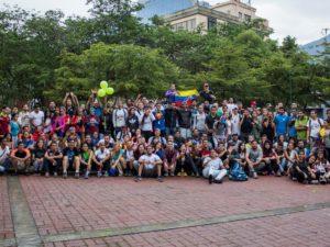 """Participantes de Lidera y Ciudad vivieron al máximo el rally """"Caracas Presente"""""""