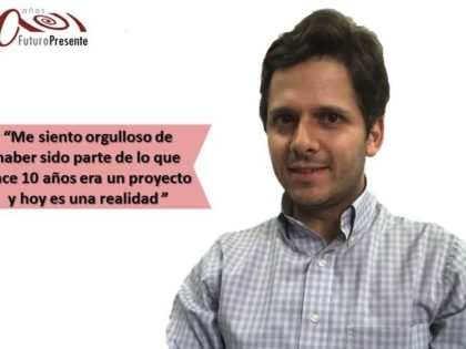 Antonino Binaggia: los conocimientos adquiridos en Lidera sirven <br>para todos los ámbitos de la vida