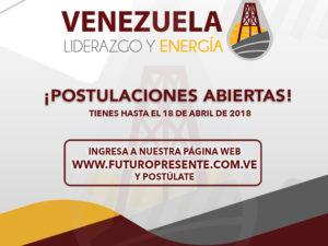 Postulaciones abiertas para el programa Venezuela, Liderazgo y Energía