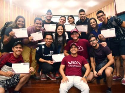 200 jóvenes participaron en el Rally por Caracas del programa de formación <br> LIDERA