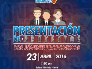 Video Los Jóvenes Proponemos 2016