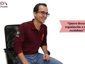 Oscar Patiño: Lidera te ofrece un campo en el cual puedes entrar, <br>averiguar, aprender y aprovechar