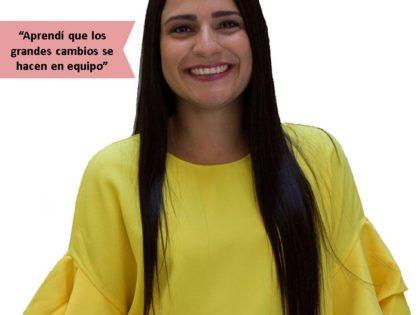 María Milagros Torres: Lidera es un lugar donde no sólo se aprende, sino que se hace