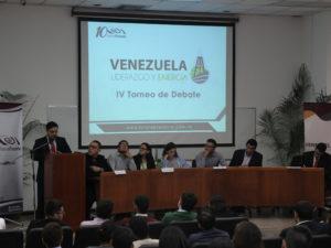 El programa Venezuela, Liderazgo y Energía llevó a cabo su IV Torneo de Debate