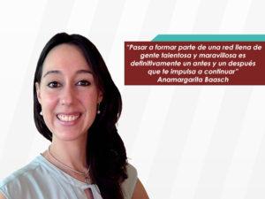 """Anamargarita Baasch: """"Lidera me impulsó a desarrollar <br>un proyecto a través de la investigación y el trabajo en equipo"""""""