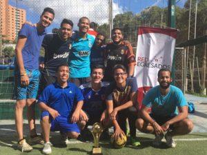 LIDERA 9 resultó ganador del V Torneo Intercohortes de Fútbol