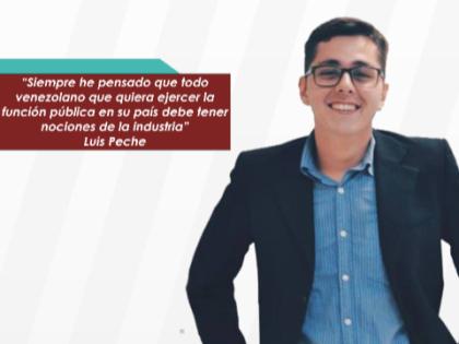 """Luis Peche: """"El programa me permitió conocer profesores de altísimo nivel y un<br> gran equipo como cohorte"""""""