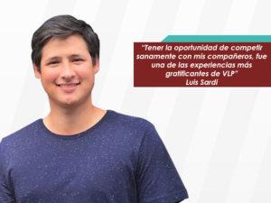 """Luis Sardi: """"El portafolio de temas y la calidad de los profesores invitados, me<br> permitió conocer sobre las diferentes facetas del mundo energético"""""""