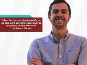 Luis Tomas Linares: Lidera fue una decisión sin ningún arrepentimiento