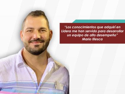 Mario Illesca: Lidera complementó, potencializó y mejoró las herramientas que a <br>toda persona le hacen falta
