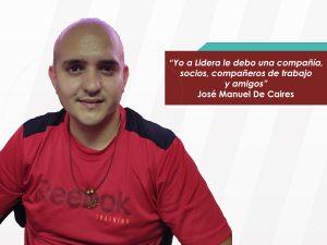 """José Manuel De Caires: """"Lidera para mí fue como un catalizador de capacidades"""""""
