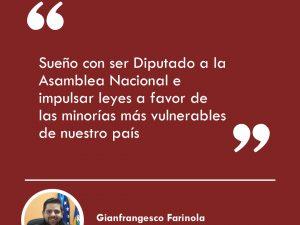 """Gianfrangesco Farinola: """"Todo lo que aprendí en Lidera lo aplico<br>en mi día a día para ser un mejor servidor público"""""""