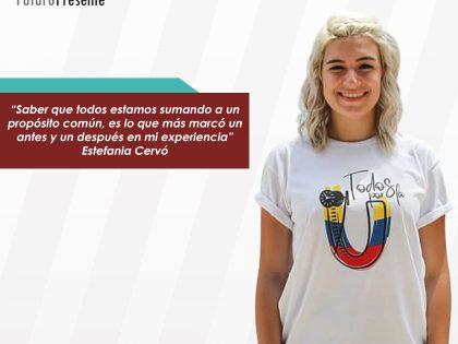"""Estefania Cervó: """"Todos los sábados obtienes nuevas oportunidades, porque<br> obtienes nuevas herramientas"""""""