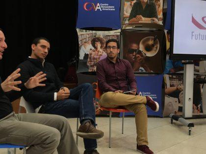 Álvaro González y Gerardo García conversaron acerca de la Innovación Educativa