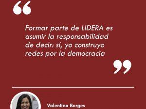 """Valentina Borges: """"Ser egresado es un prestigio que nos exige <br> dar lo mejor de nosotros"""""""